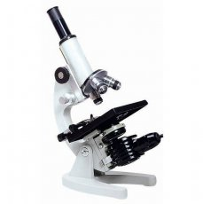MICROSCOPIO BIOLOGICO MONOCULAR COM AUMENTO DE 50X ATE 1600X E ILUMINACAO 15W